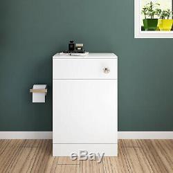Wc Bathroom Vanity Unit Retour À Wall Square / Forme Toilet Gratuit Concealed Cistern