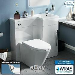 Wc Unité Retour Au Mur Toilettes Unité Pan Vanity Avec Concealed Cistern Ellis
